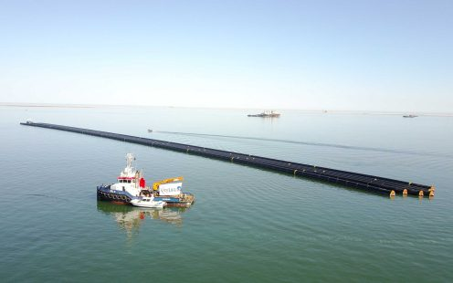 Pipelife has set a world record, Walvis Bay