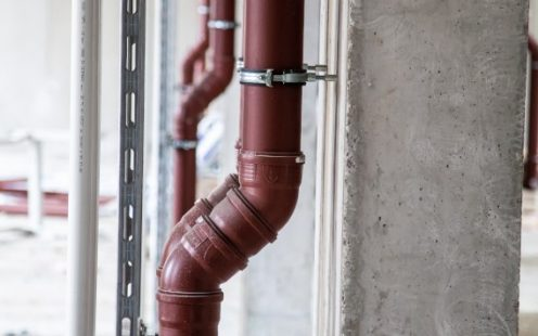 Pipelife soil pipe, Wienerberger Haus