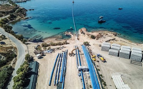 Aegina potable water supply solution